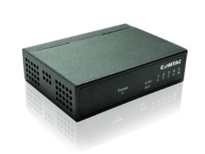 Switch Gigabit 5 portas - COMTAC - 9172