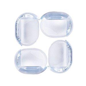 Protetor Para Quina Transparente PVC Macio Comtac Kids 4207