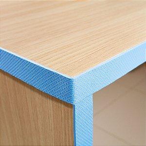 Fita Protetora Adesiva Multiuso EVA - Azul - 1 metro