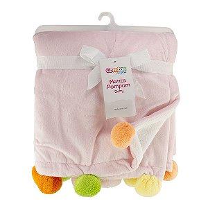 Manta Pompom Baby Girl Comtac Kids 4231