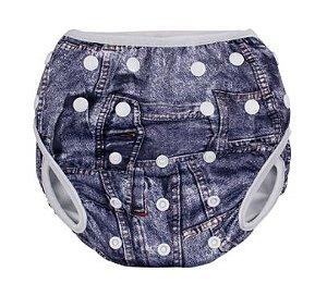 Sunguinha de piscina ajustável - jeans ( G ) (59124279)