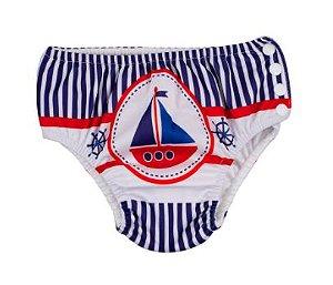 Sunguinha de piscina com absorvente - marítimo ( 12 - 18 Meses ) (59124381)