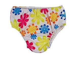 Calcinha de piscina com absorvente - primavera  (6- 9 Meses ) 59124408