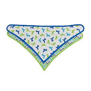 Babador Bandana Triangular Cavalinho 2 Pcs Comtac Kids 4419