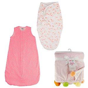Kit Mini Enxoval Bebê Menina - Combinação 4 - 57151027
