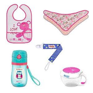 Kit Alimentação para Bebê Menina - Combo 2 - 54181015