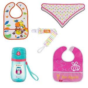Kit Alimentação para Bebê Menina - Combo 3 - 54181016