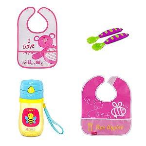 Kit Alimentação para Bebê Menina - Combo 5 - 54181018