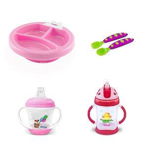 Kit Alimentação para Bebê Menina - Combo 6 - 54181019