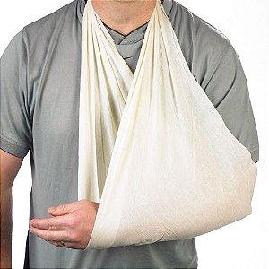 Bandagem triangular em algodão cru