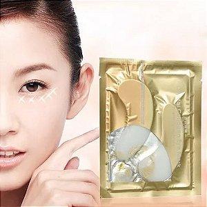 Máscara Colágeno Gel para Olheiras 24k Gold Mask Anti Rugas Linhas de Expressão
