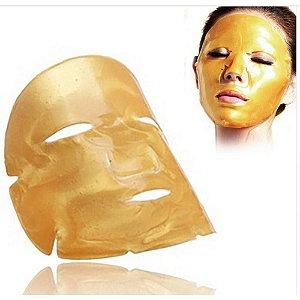 Máscara Anti Envelhecimento Sinais Previne Rugas Flacidez Efeito Lifting Gold Bio Colágeno 24k