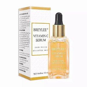 Serum Completo Vitamina C Anti Idade Envelhecimento Botox Iluminador Tira Manchas Escuras Rosto Clareador 100% Natural 17ml Breylee