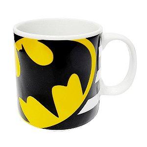 Caneca Batman Porcelana 300ml Presente Aniversário Brinde