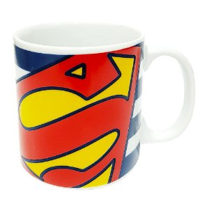 Caneca Personalizada Superman Porcelana 300ml Presente Aniversário Brinde