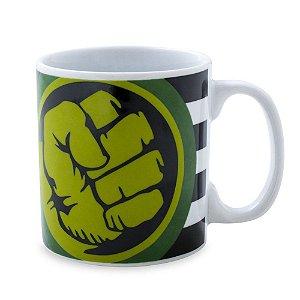 Caneca Personalizada Hulk Porcelana 300ml Presente Aniversário Brinde