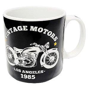 Caneca Vintage Motors Porcelana 300ml Presente Aniversário Brinde