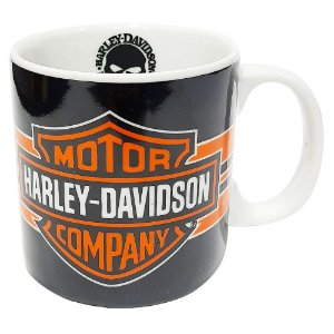 Caneca Harley Davidson Porcelana 300ml Presente Aniversário Brinde