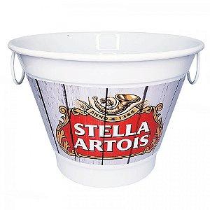 Balde De Gelo 6 Litros Em Alumínio Personalizado Pintura Eletrostática Stella Artois