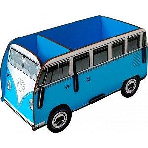 Porta Objetos Controle Remoto Acessórios Kombi Azul