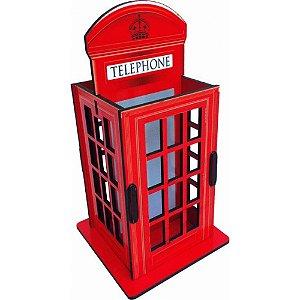 Porta Objetos Controle Remoto Acessórios Cabine Telefônica Londres
