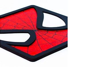 Quadro Decorativo 3D Alto Relevo Homem Aranha Mdf 3mm