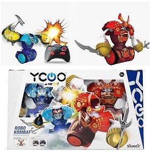 Brinquedo Robo Kombat Samurai Luta Silverlit Diversão