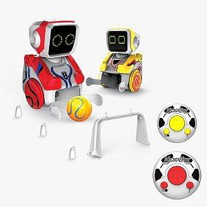 Robôs Jogadores De Futebol Boliche Corrida Inteligente Controle Remoto