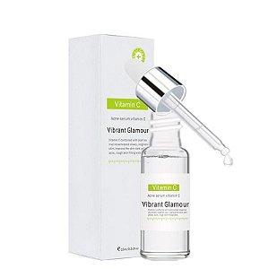 Serum Completo Vitamina C + Acido Hialurônico Efeito Botox Rugas Firmador Manchas Acnes 15ml Vibrant Glamour
