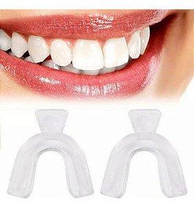 Ranger Dentes Ou Desgaste Placa Moldável Para Bruxismo Par