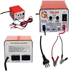 Carregador Bateria 12v Carro Moto Não Precisa Desligar Tr60 Trlux