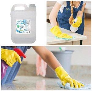 Desinfetante Líquido Álcool 5 Litros 70% Limpeza Desinfecção DepiMax