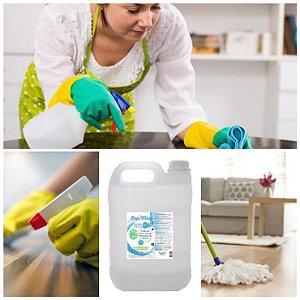 Álcool Líquido 70% Antisséptico Proteção Limpeza 5 Litros DepiMax