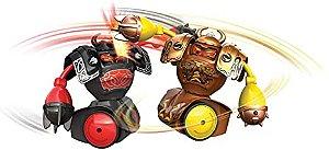Brinquedo Robô Kombat Robôs De Batalha Luta Som Viking Silverlit