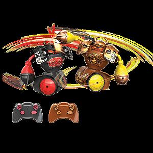 Brinquedo Robô Kombat Robôs De Batalha Luta Som Vikings Silverlit