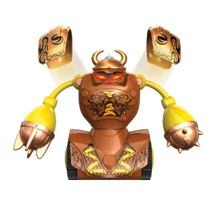 Brinquedo Robô Kombat Robôs De Batalha Luta Viking Silverlit