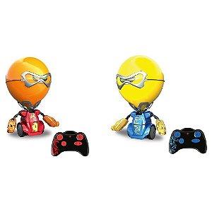 Robo Inteligência Artificial Kombat Batalha Balões Silverlit Dtc