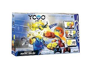 Brinquedo Robo Kombat Controle Remoto Batalha Boom Balão Silverlit Dtc