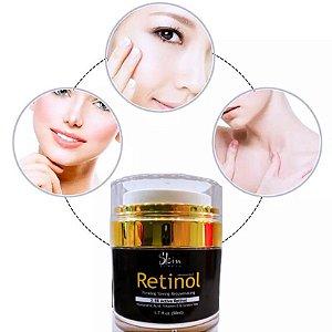 Anti Rugas Noite E Dia Vitamina A Retinol Creme Facial 50ml