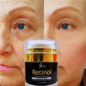 Creme Facial Hidratante Retinol 2,5% Acido Hialurônico 50ml