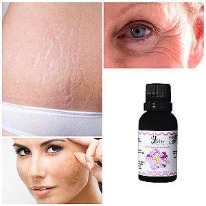 Óleo Rosa Mosqueta Cicatriz Estria Manchas 30ml Skin Health