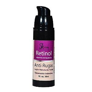Retinol Flacidez Pescoço Colo Mãos Manchas Pump Skin Health