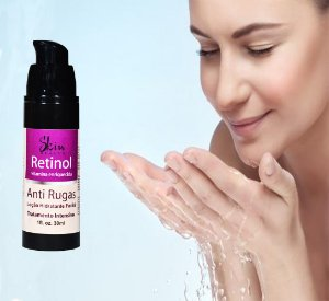 Novo Serum Retinol Anti-idade Antissinais 30ml Pump Skin Health