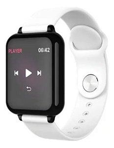 Oximetro Pulso Bracelete Mede Oxigenacao Pressao Relogio Smartwatch Fitness B57