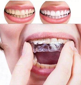 Placas Moldável Para Clareamento Clarear Dentes Par