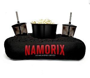 Almofada Porta Pipoca Personalizada Namorix