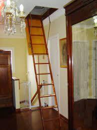 Escada Sótão Madeira Maciça Imunizada 58x129x300 3 Anos Garantia !!