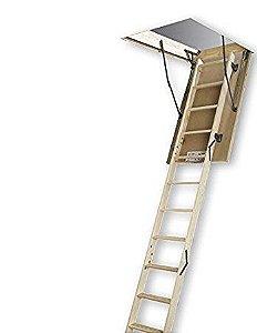 Escada de madeira para sotão LWS Fakro 60x120x280