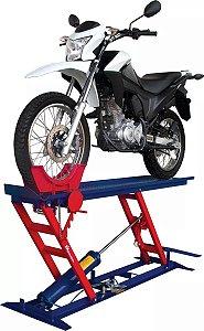 Elevador De Motos Pneumático EMCP-250 Metalcava