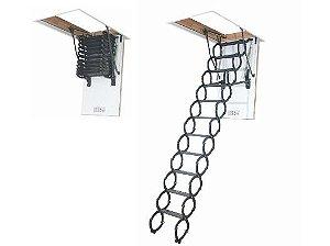 Escada para sótão em metal LST FAKRO 60x120x280